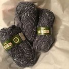4 Skeins Wendy Aran 25% Wool/75% Acrylic Yarn - 100g Each
