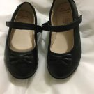 EXC. CONDITION Clarks First Shoes Black Maryjanes w/ Bow - 6.5 W