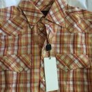 NEW Dolce & Gabbana Men's Fitted Plaid Short-Sleeve Casual Shirt - 15/38