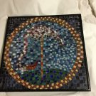 Unique Glass Mosaic Art Painting - Heron