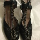 EXCELLENT CONDITION Jacqueline Schnabel Open-Toe Slingbacks - 38.5/8.5
