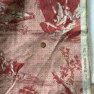 """NEW Brunschwig & Fils Toile Fabric Sample - 27""""w x 37.5""""L"""