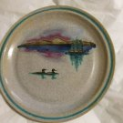"""EXCELLENT CONDITION Fawn Ridge Pottery Hanging Plate - 12"""" Diameter"""