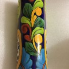 EXCELLENT CONDITION Talavera Mexican Pottery Vase Signed Venegas Lead Free