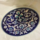 EXCELLENT CONDITION Turkish Pottery Hand Painted Hanging Plate - 9""