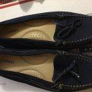 """EXCELLENT CONDITION Caslon """"Paula"""" Blue Suede Slipon Loafer (W95713) - 7B"""