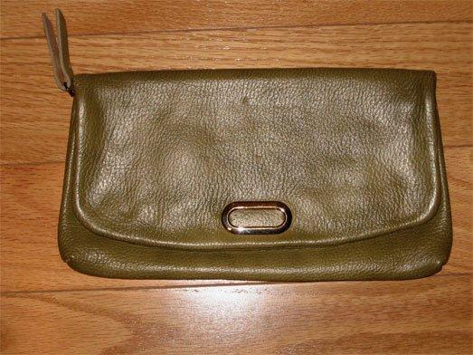 Olive Green Pocketbook