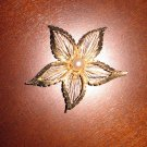 Retro BROOKS Flower Brooch