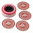 Ohio State Absorbent Coasters  Item: 37815