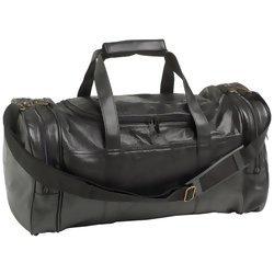 "Embassy 20"" Hand-Sewn Pebble Grain Genuine Leather Tote Bag  Item: LUPGLTB3"