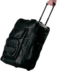 "Embassy Italian Stone Design 23"" Genuine Leather Super Deluxe Backpack/Rolling Cart  Item: LUBPRC2"
