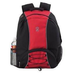 Royal Crest Red and Black Backpack  Item: LUBPCREST