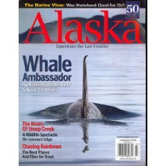 Alaska Magazine July/August 2008 Back-Issue