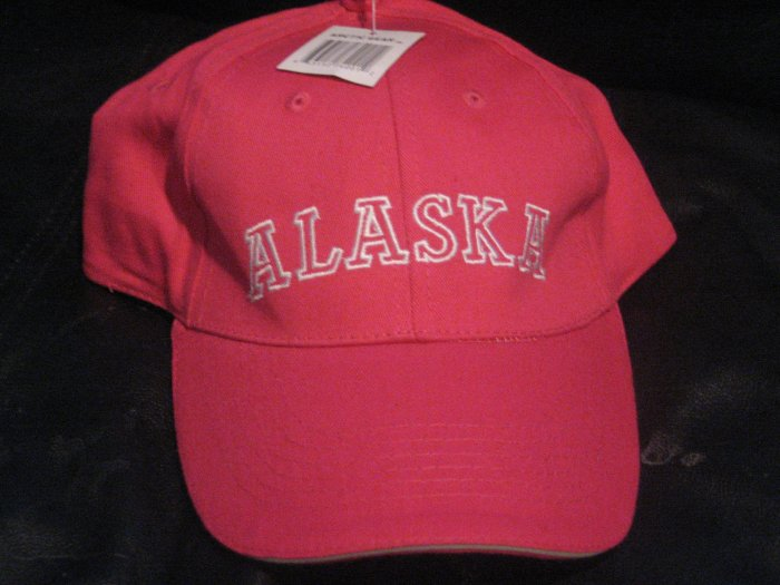 Hot Pink Alaska Ladies Alaskan Baseball Hat Cap