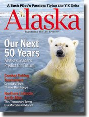 Alaska Magazine December 2008 January 2009 Arctic Man with Alaska Inside Bonus