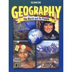 Calvert GLENCOE Geography The World And Its People QUIZZES AND TESTS BOOK Grade 7