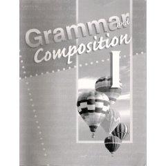 ABEKA Grammar Composition I TESTS QUIZZES Student Grade 7