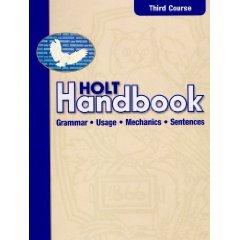 HOLT Handbook ATE Teacher Edition THIRD COURSE - NEW