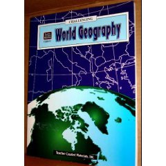 Challenging World Geography TCM 471 Student  Teacher Book