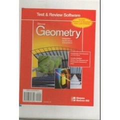 Glencoe Geometry Test and Review Software CD-ROM Set