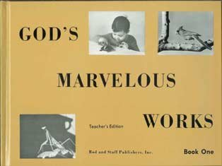 Rod and Staff God's Marvelous Works Book 1 Science Grade 5 TE