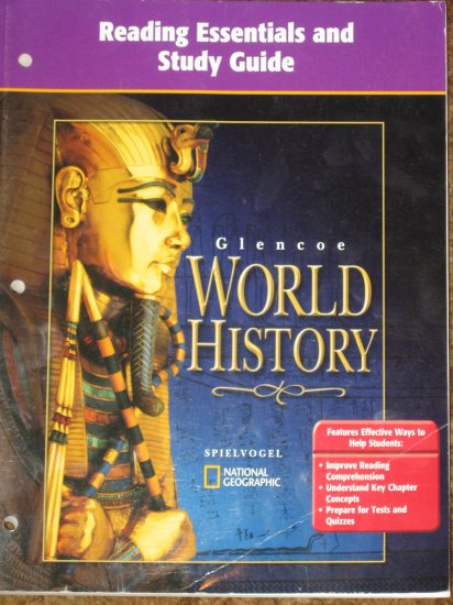 GLENCOE World HIstory Reading Essentials and Study Guide TE Book
