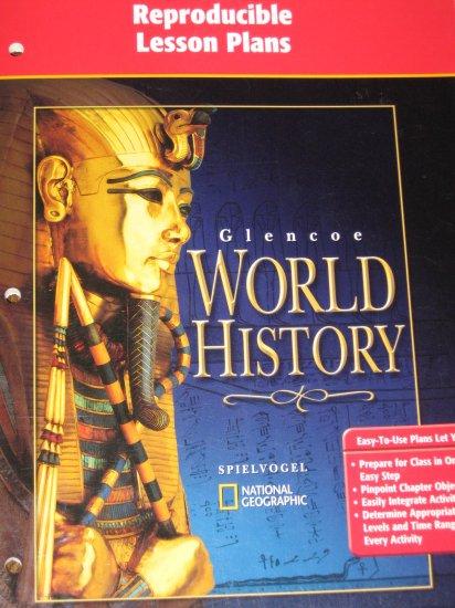 Glencoe World History Reproducible Lesson Plans Book