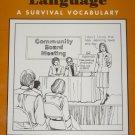 Government Language - A Survival Vocabulary - Teacher Book