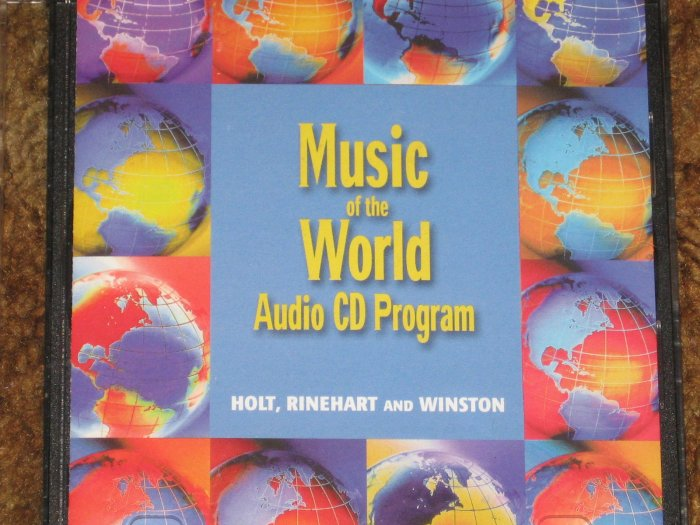 Holt Music of the World Audio CD Program and Teacher Guide