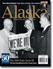 Alaska Magazine May 2008 50th Anniversary Issue Bears