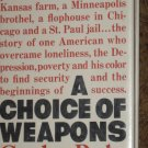 A Choice of Weapons Autobiography Gordon Parks HC Book 1966