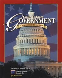GLENCOE United States Government Democracy in Action GUIDED READING ACTIVITIES Book