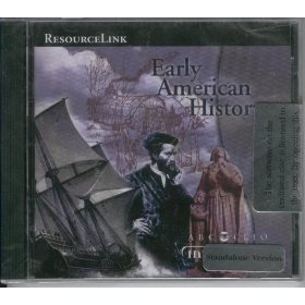 Early American History CD-ROM Educational Resource ResourceLink