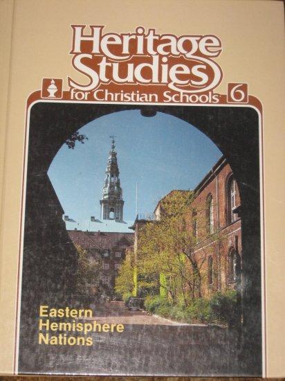 BJU Heritage Studies for Christian Schools 6 Bob Jones Book