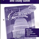 Glencoe United States Government Democracy in Action Reading Essentials And Study Guide Book