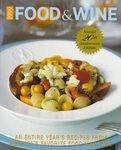 1999 Food & Wine Annual Cookbook 20th Anniversary Edition Book