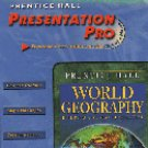Prentice Hall World Geography Presentation Pro CD-ROM