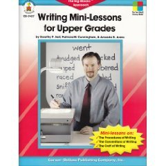 Writing Mini Lessons for Upper Grades Hall Arens SC Book