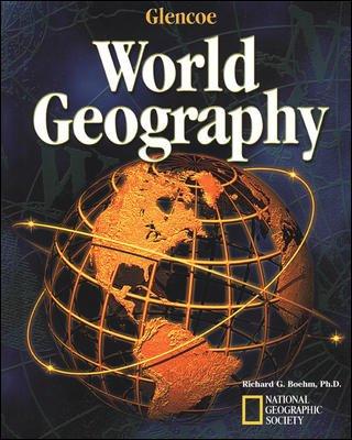 Glencoe World Geography Tests Quizzes Teacher Resource Set 2003