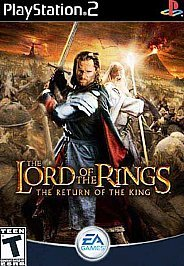 Lord of the Rings Return of the King Game Playstation 2 PS2