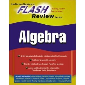 Addison Wesley Flash Review Algebra Study Book