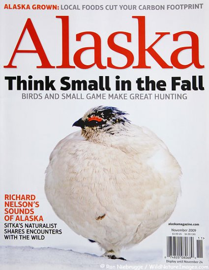 Alaska Magazine November 2009 AK Back-Issue