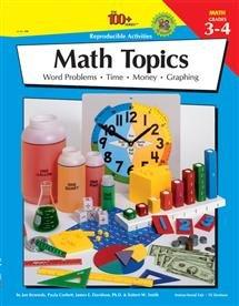 Math Topics Gr 3-4 100 Reproducible Activities IF8746