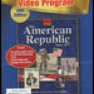 The American Republic Since 1877 Video Program Guide Book