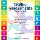 Dr Fry's Informal Reading Assessments Grades K-8 2nd Ed Book