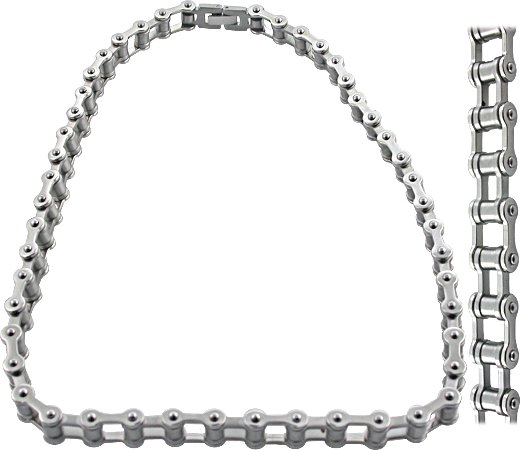 Ice Link Bicycle Chain Bike NeckChain. TZSN002