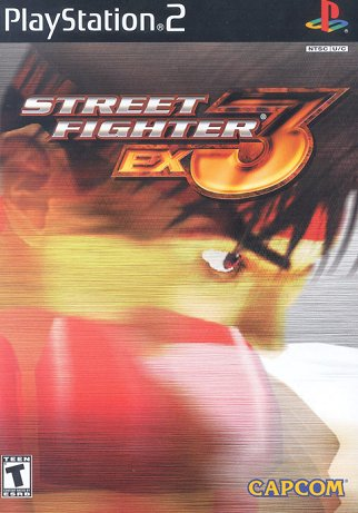 Street Fighter EX3 (PlayStation 2, PS2)