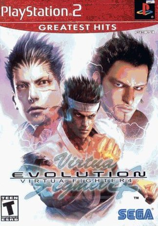 Virtua Fighter 4: Evolution (PlayStation 2, PS2) (Never Played)
