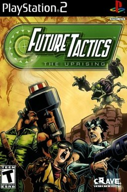 Future Tactics: The Uprising (PlayStation 2, PS2) (Brand New, Factory Sealed)
