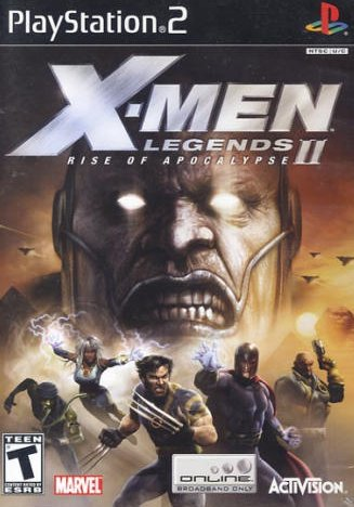 X-Men Legends II: Rise of Apocalypse (PlayStation 2, PS2)